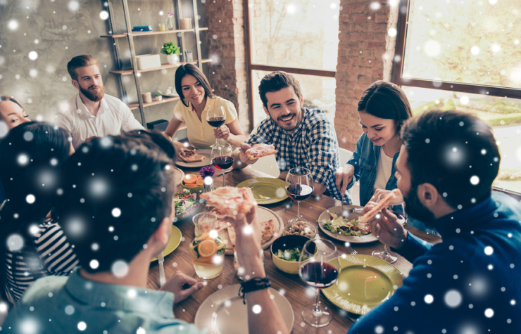 Some Easy Tips To Avoid Overeating During The Winter Holidays While Enjoying The Feasts!